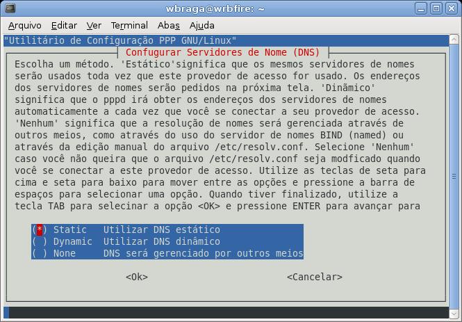 Configuração do DNS
