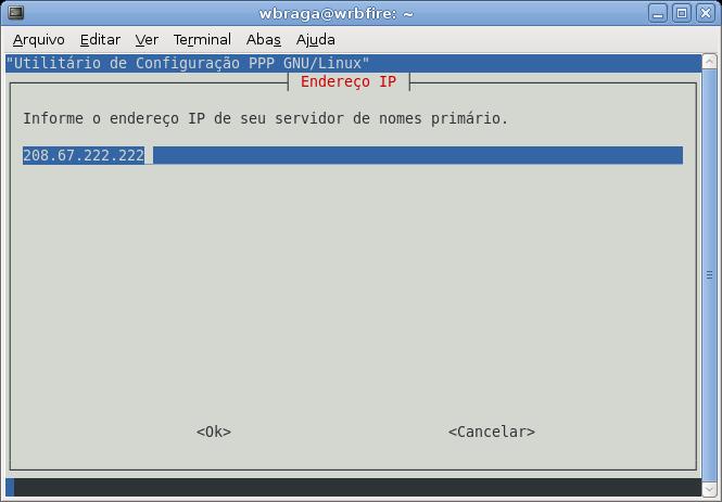 DNS primário
